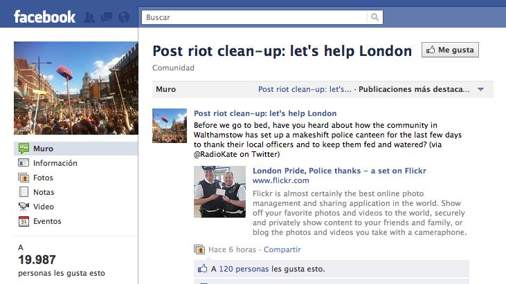 El Rol de las Redes Sociales en las Protestas de Londres Screen Shot 2011 08 12 at 1