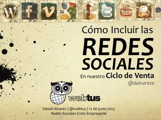 Redes Sociales en nuestro ciclo de ventas.